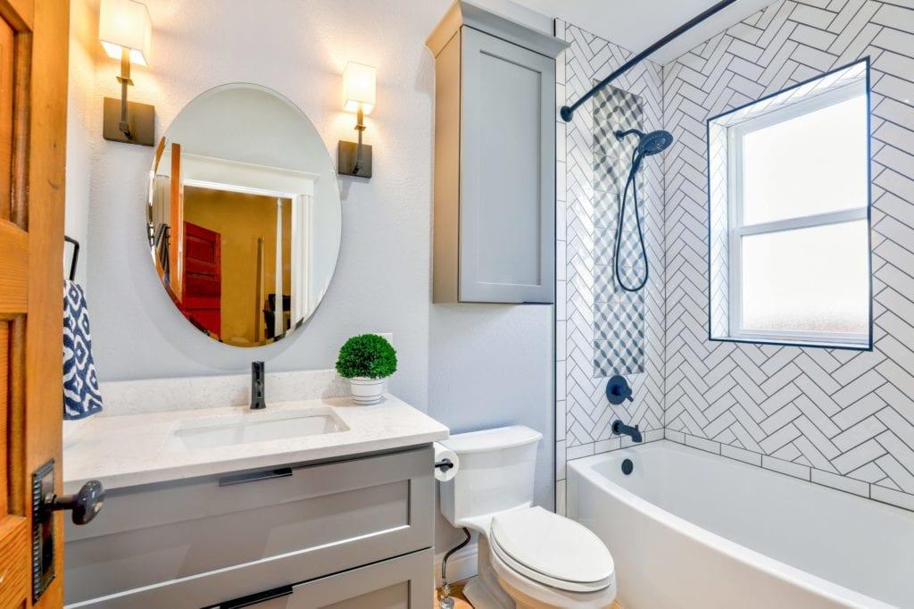 bathroom reoval-mirror-near-toilet-bowl-1910472model